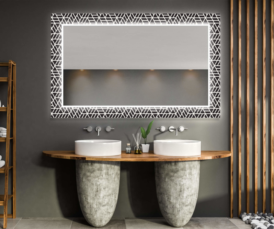 Illumination LED Miroir Decor 16