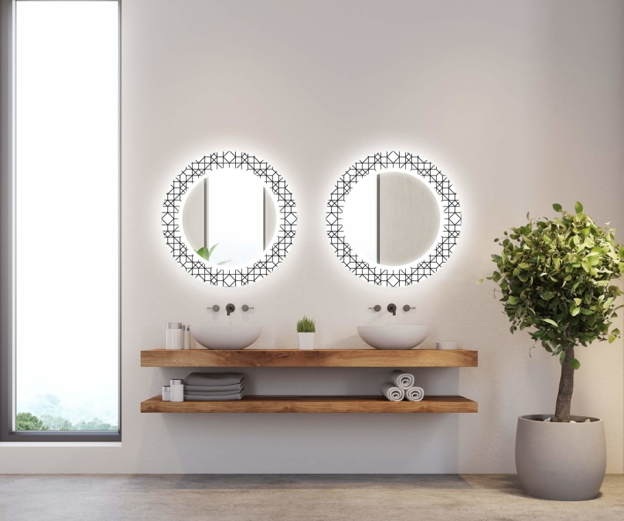 Illumination LED Miroir Decor 10