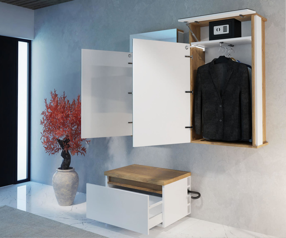 Armoire à chaussures - Olivia